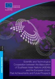 Scientific and Technological Cooperation between the Association ...