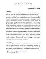 UTILIZAÇÃO E MANEJO DE PASTAGENS 1- Resumo A ... - Unesp