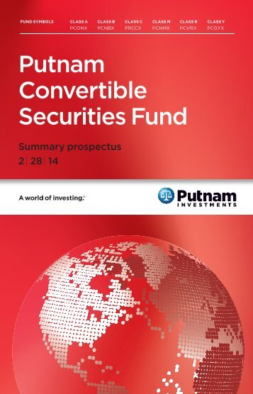 Download Summary Prospectus - Putnam Investments
