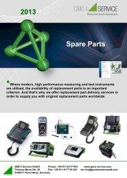 Spare Parts 2013 - Gmci-service.com