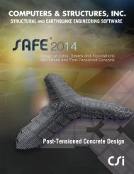 Post-Tensioned Concrete Design Manual - Computers & Engineering