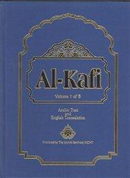 Al-Kafi vol 1