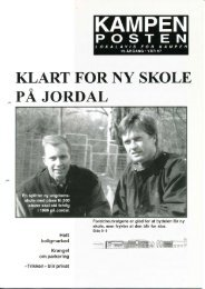 KLART FORNY SKOLE PÅ JORDAL - Kampenposten