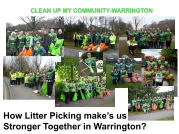 A case study in community led action - David Parr ... - Keep Britain Tidy