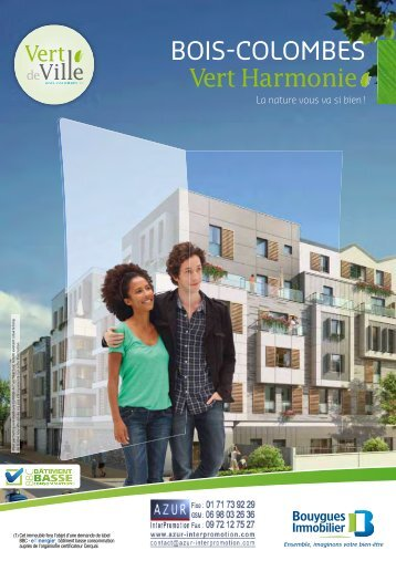 92 Bois Colombes - Vert Harmonie - Azur InterPromotion