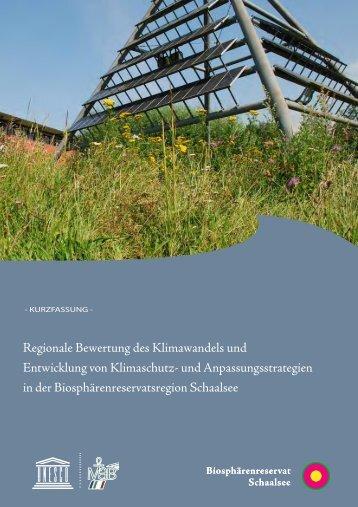 Regionale Bewertung des Klimawandels und Entwicklung von ...