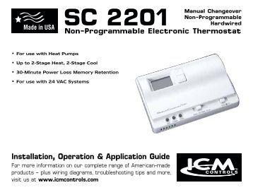 icm275 fan control center icm controls sc 2201 icm controls