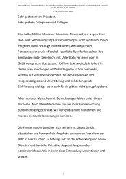 Rede zur Barrierefreiheit vom 30.06.2011 - Daniela Behrens