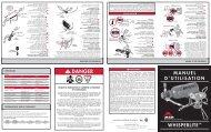 DANGER - Cascade Designs, Inc.