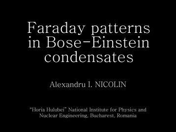 Faraday patterns in Bose-Einstein condensates