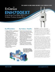 ENH700 EXT Datasheet - EnGenius Technologies
