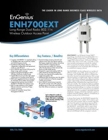 ENH700 EXT Datasheet - EnGenius Technologies