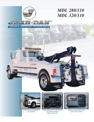 Jerr-Dan MDL 280 14-Ton Independent - Twin State Equipment