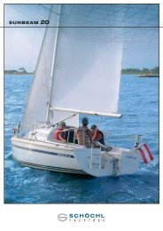 SUNBEAM 20 - Sunbeam Schöchl Yachtbau