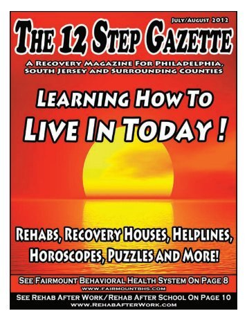 July & August 2012 - 12 Step Gazette