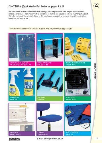 View our Latest PDF Product Catalogue - Bondline