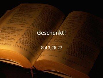 Download (speichern unter) - FeG Steinheim