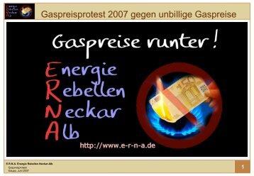 ERNA zum BGH-Urteil - Wer sind die Energie-Rebellen?