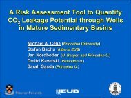 A Risk Assessment Modeling Tool to Quantify Leakage Potential ...