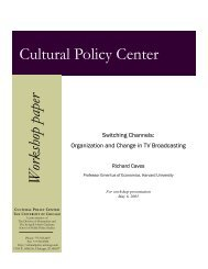 Switching Channels: Organization and Change in TV Broadcasting