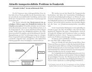Aktuelle transportrechtliche Probleme in Frankreich - Deutsche ...