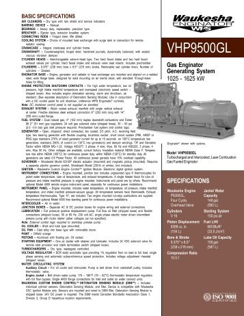 Waukesha Engine Sales CD - Kraft Power