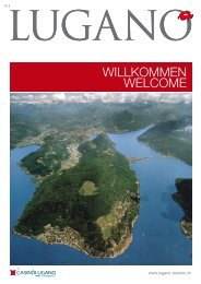 willkommen welcome - Lugano Turismo