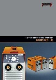 BOOSTER 140 – Schweißen ohne Grenzen - Rehm GmbH  u. Co KG