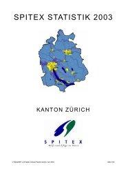 S P I T E X  S TAT I S T I K  2 0 0 3 - Spitex Verband Kt. Zürich
