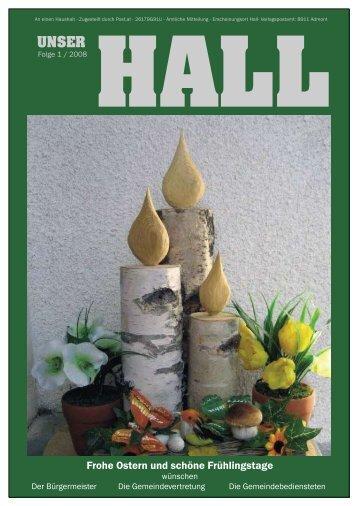 Frohe Ostern und schöne Frühlingstage - Gemeinde Hall