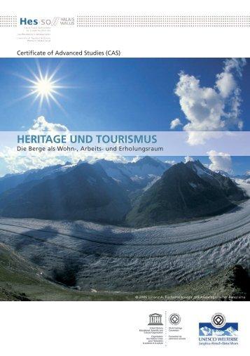 HERITAGE UND TOURISMUS - Berggebiete.ch