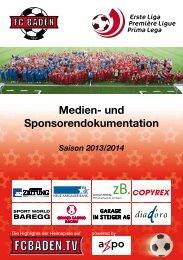 FC Baden 2013/2014 HERREN 1