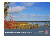 Inhaltliche Anforderungen: Verknüpfung der Biosphärenreservate