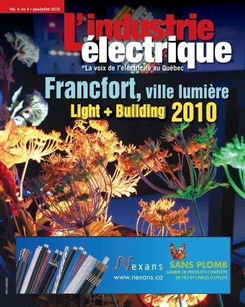Francfort,ville lumière - Electrical Business Magazine