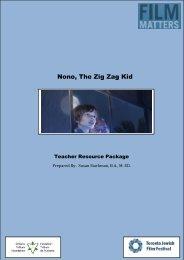 Nono the Zig Zag Kid Resource Package