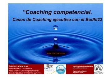 """""""Coaching competencial Coaching competencial. - EmprenemJunts"""
