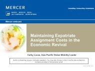 Download presentation - iMercer.com