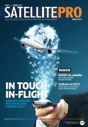 In touch In-flIght - Broadcastpro Middle East