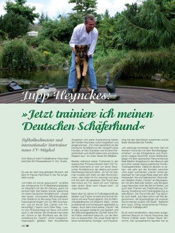 dazu... - Verein für Deutsche Schäferhunde (SV)