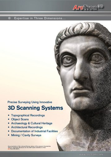 ArcTron 3 D 3D Scanning Systems