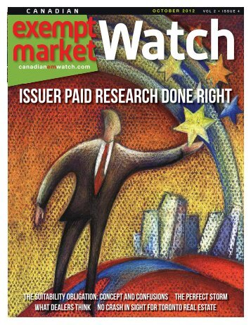 Canadian Exempt Market Watch - Fundamental Research Corp.