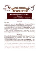 July 2002 - Holy Cross International Justice Office