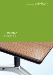Timetable. - X|CMS™ By Spaeti Büro AG
