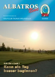 Josef Lulay... - Golfclub Taunus Weilrod e.V.