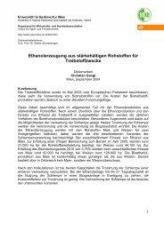 Kurzfassung - und Sozialwissenschaften - Boku