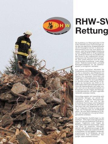 RHW-SV Rettungs