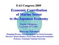 Presentation - T1-2 - Economic Contribution of Marine ... - Pemsea