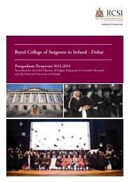 XXXXXX RCSI Prospectus Dubai INS 2013_Layout 1 - Institute of ...