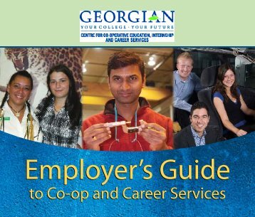Employer's Guide - Owen Sound And Area Family YMCA