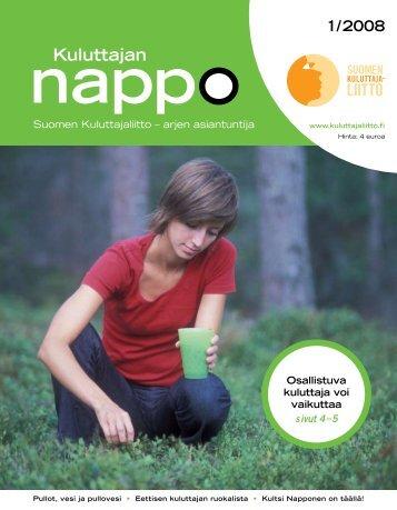 Nappo 1 08 - Kuluttajaliitto